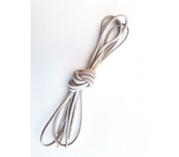 Silné kulaté tkaničky, hydrofobní úprava, pouštní barva