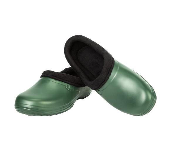 Kolmax EVA CLOG POLAR con pelaje verde oliva