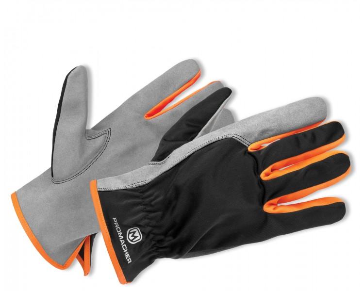 ProM CARPOS Handschuhe grau / orange