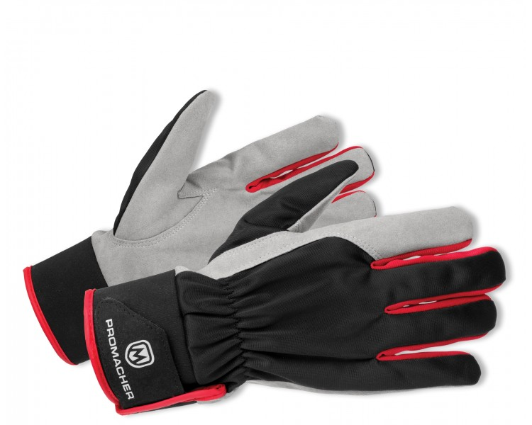 ProM CARPOS VELCRO Gloves grey/red