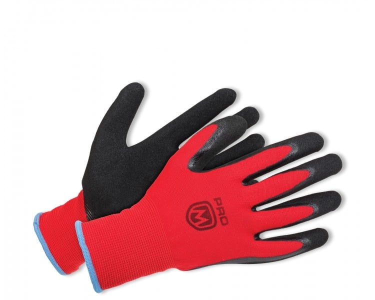 ProM MANOS Gloves black / red