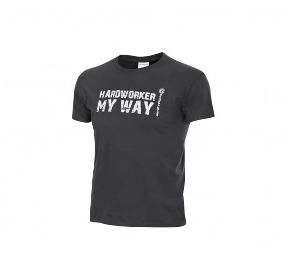 Koszulka ProM HARDWORKER szara