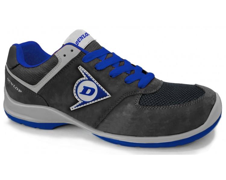 Dunlop FLYING SWORD EVO PU-PU ESD S3 - černá a modrá pracovní a bezpečnostní obuv