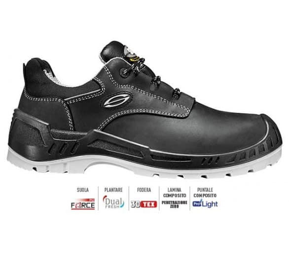 Sir OVERCAP Low working and safety shoes