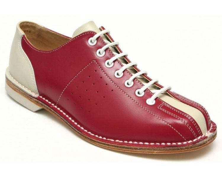 BOWLING obuv červená