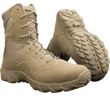 Souliers de militaire et de police professionnels MAGNUM Cobra 8.0 Desert