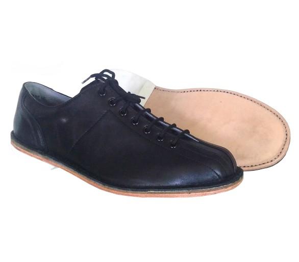 ZEMAN Chaussures d'exercice de folklore et de danse noires