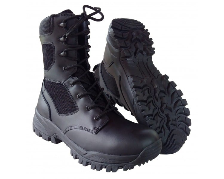 ZEMAN ALFA BLACK 8.0 профессиональные военные и полицейские сапоги