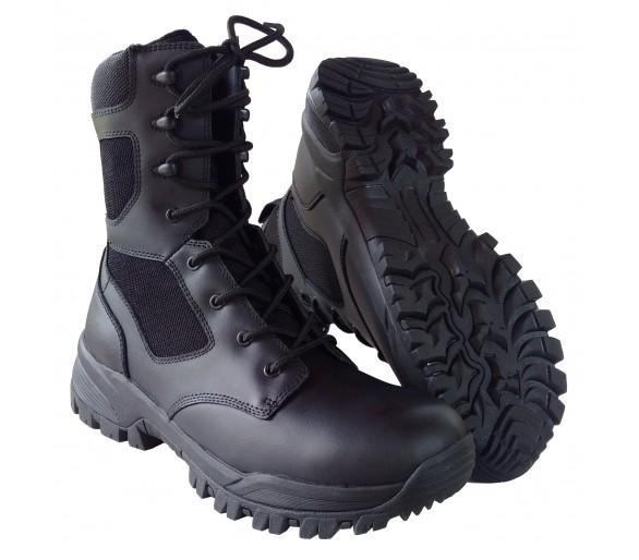 ZEMAN ALFA 8.0 BLACK profesionálne vojenské a policajné topánky