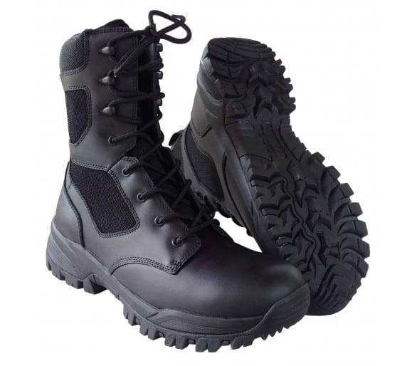 ZEMAN ALFA 8.0 BLACK professional military and police boots
