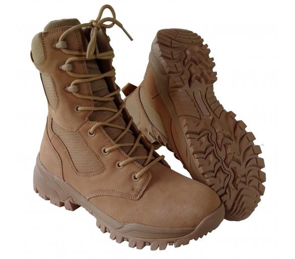 ZEMAN ALFA 8.0 DESERT profesionálne vojenské a policajné topánky