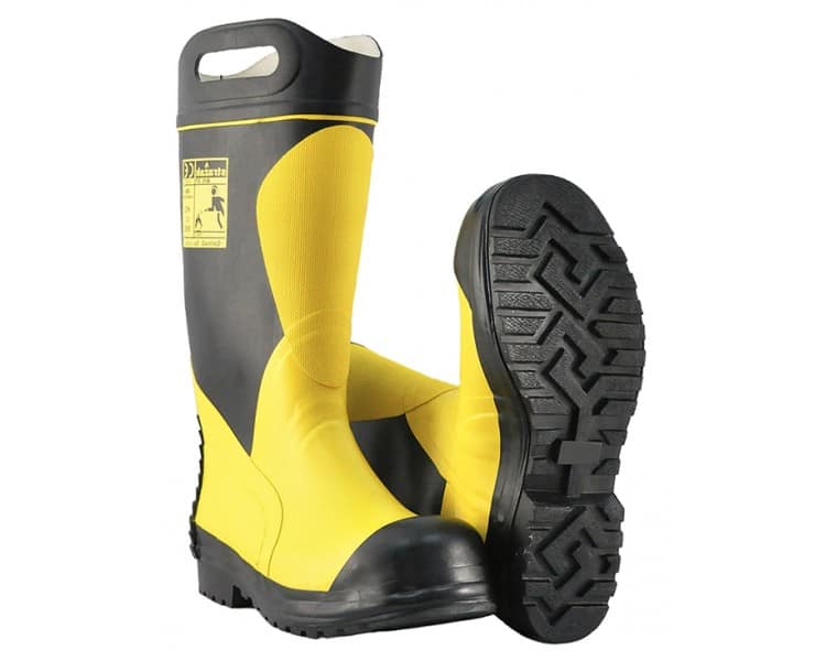 FIRESTAR-PL F2I rubber firefighting action boots