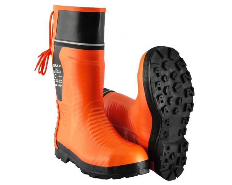 WOODCUTTER-PL pracovná a bezpečnostná gumová obuv proti porezu motorovou pilou