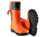 Woodcutter-PL bezpečnostná gumená obuv proti prerezaniu motorovou pílou