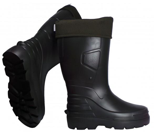 Camminare ANGLER черная рабочая и безопасная резина EVA до -30 ° C