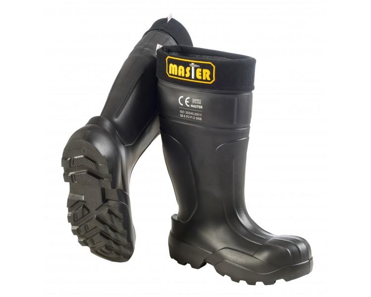 Camminare MASTER Black en caoutchouc EVA de travail et de sécurité jusqu'à -35 ° C