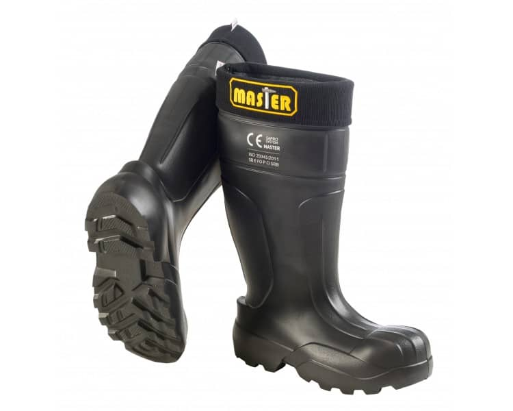 Camminare MASTER Black working and safety EVA rubber to -35 ° C