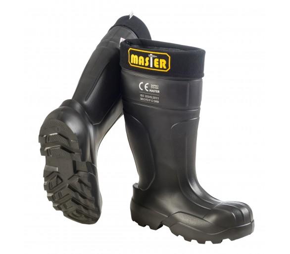Camminare MASTER Gomma da lavoro e sicurezza nera in gomma EVA a -35 ° C