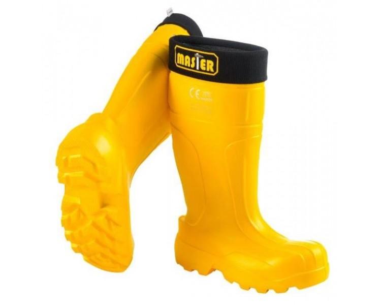 Camminare MASTER Желтая рабочая и безопасная резина EVA до -35 ° C