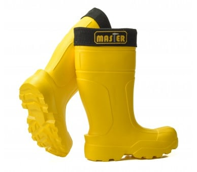 Camminare MASTER Yellow working and safety EVA rubber to -35 ° C