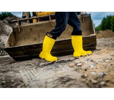 Camminare MASTER Gomma da lavoro e sicurezza in gomma gialla a -35 ° C