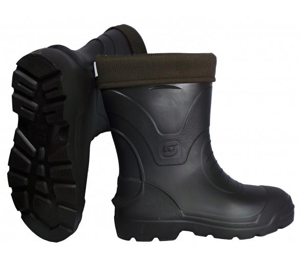 Camminare VOYAGER Schwarzer EVA-Gummi für Arbeit und Sicherheit bis -30 ° C