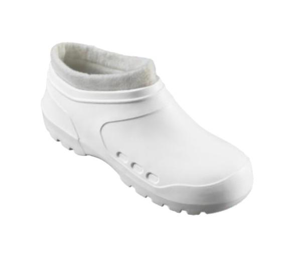 Clog Galosh Thermal White