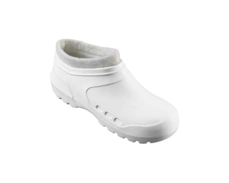 Clog Galosh Thermal White