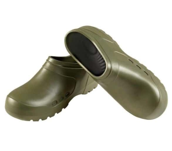 Camminare GALOSH Clog Olive work and safety EVA rubber clog