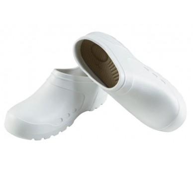 Clog Galosh White