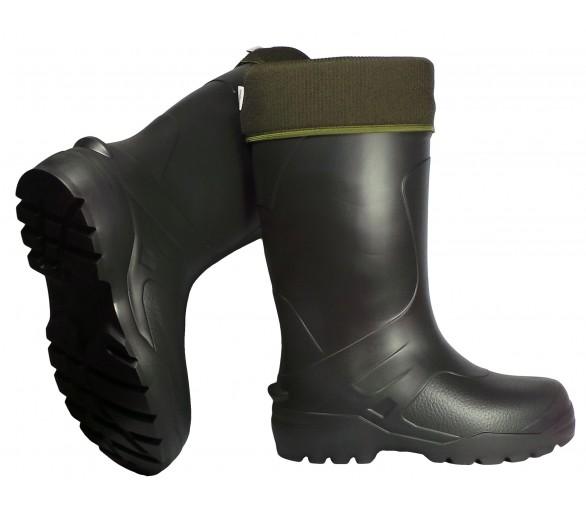 Camminare EXPLORER Schwarzer EVA-Gummi für Arbeit und Sicherheit bis -30 ° C