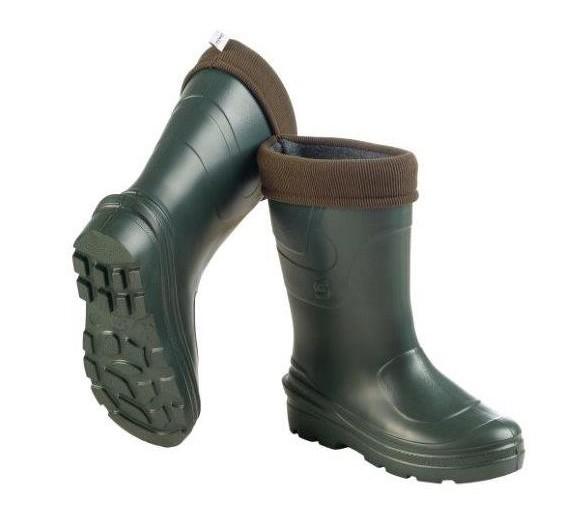 Camminare MONTANA Zielona damska guma EVA do pracy i bezpieczeństwa do -30 ° C
