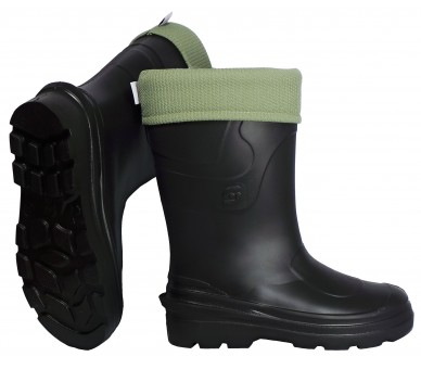 Camminare MONTANA Black women's working and safety EVA rubber to -30 ° C