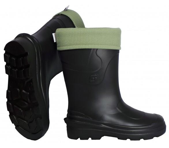 Camminare MONTANA Black dámska pracovné a bezpečnostné EVA gumák do -30 ° C