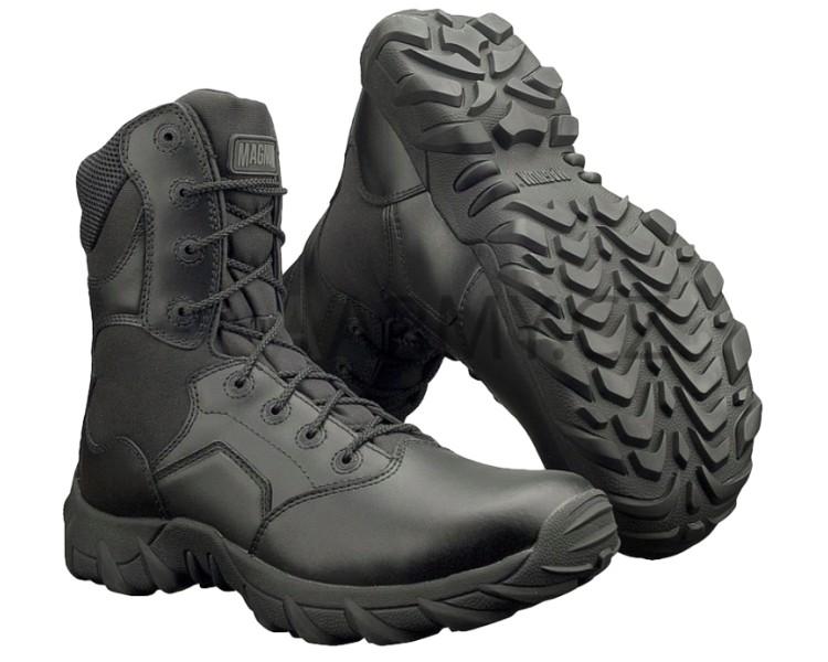 MAGNUM Cobra 8.0 Черная профессиональная военная и полицейская обувь
