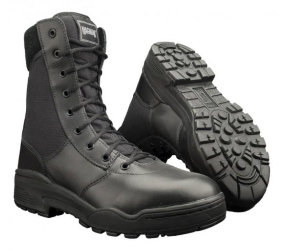 MAGNUM Classic 8.0 Czarne profesjonalne buty wojskowe i policyjne