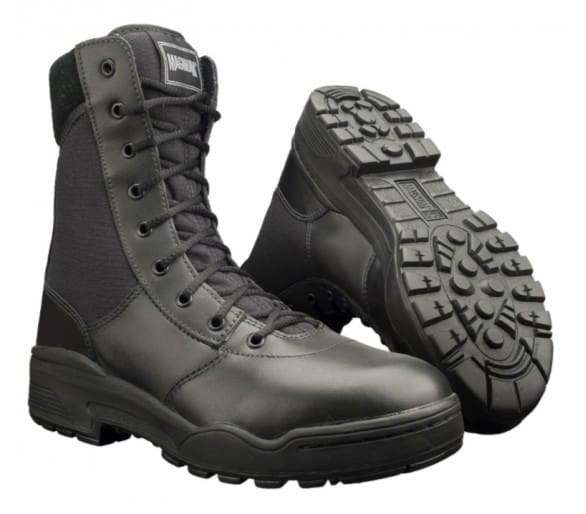 MAGNUM Classic 8.0 Fekete profi katonai és rendőrségi cipő