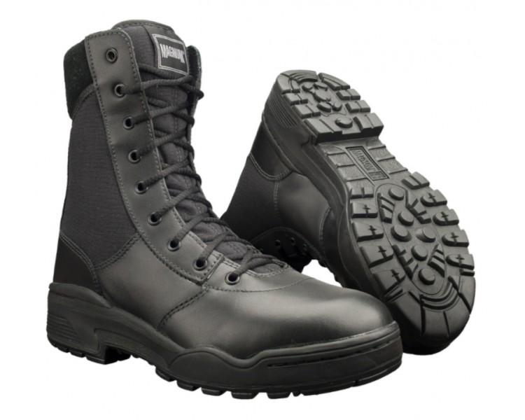 MAGNUM Classic 8.0 Черные профессиональные военные и полицейские ботинки