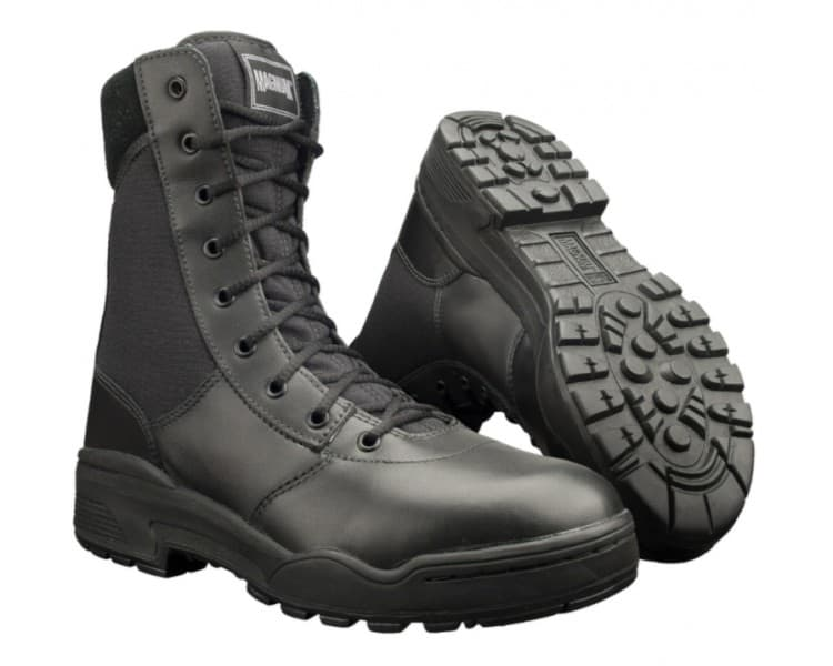 MAGNUM Classic Black professional miltary and police boots
