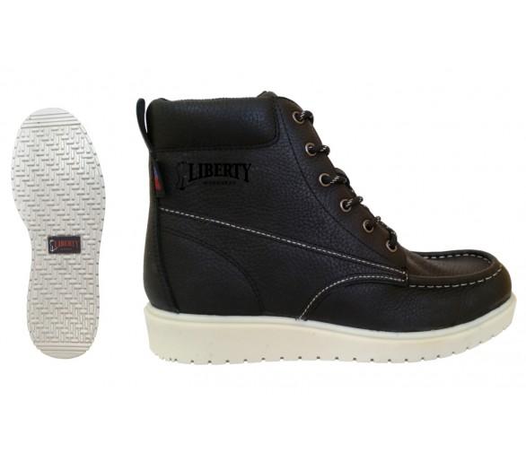 """GARY 6"""" kotníčkové boty - černé"""