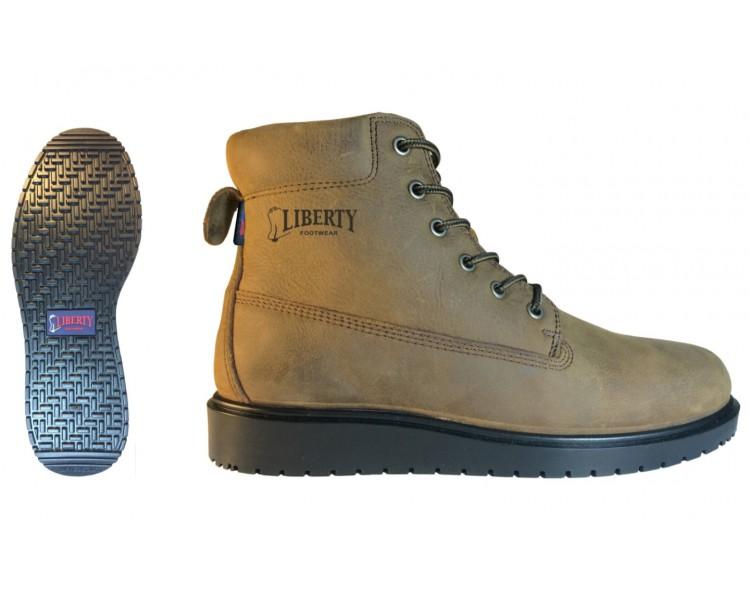 """TERRY 6"""" voděodolné kotníčkové šněrovací topánky"""