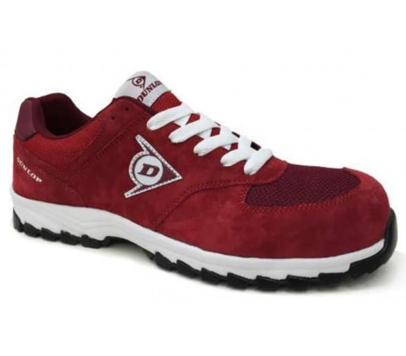 DUNLOP Flying Arrow MRO S3 - рабочая и защитная обувь красного цвета