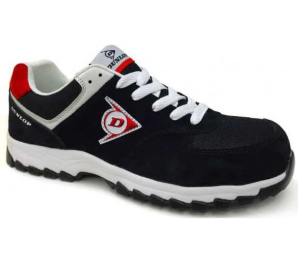 DUNLOP Flying Arrow MRO S3 - zapatos de trabajo y seguridad negros y rojos