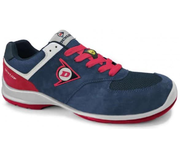 Dunlop FLYING ARROW Lady PU-PU ESD S3 - working and safety blue and blue shoes