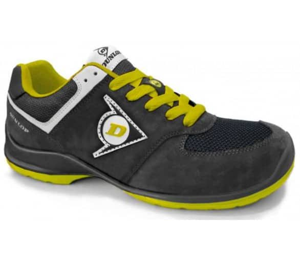 DUNLOP Flying Sword PU-PU ESD S3 - work and safety shoes black-yellow