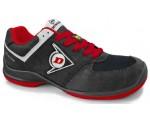 DUNLOP Flying Sword PU-PU ESD S3 - рабочая и защитная обувь черного и красного