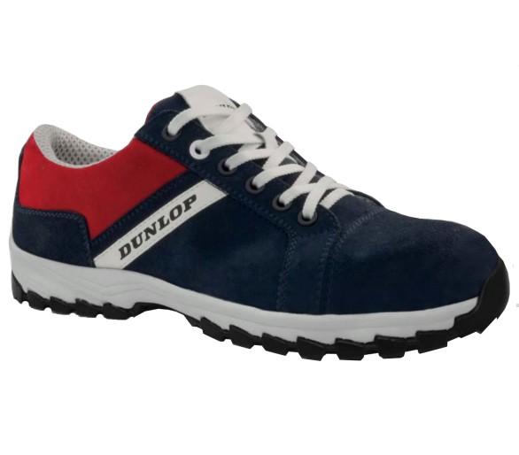 DUNLOP Street Response Blue Low S3 - рабочие и защитные ботинки синего цвета