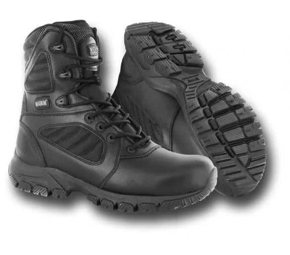 MAGNUM LYNX 8.0 WP chocolate-camo professional military and police boots