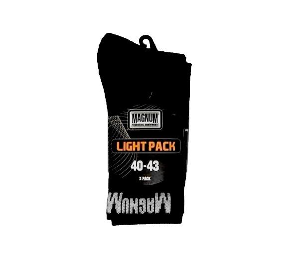 Ponožky MAGNUM Light Pack 3ks / balení - vojenské a policejní doplňky