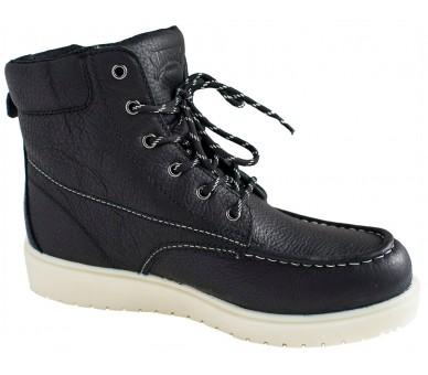 """GARY 6"""" kotníčkové topánky - čierné"""